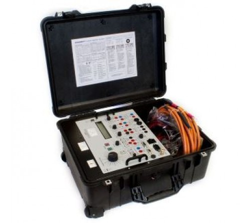 T&R 200ADM-P Secondary Current Injection Test Set w/ Phase Shift