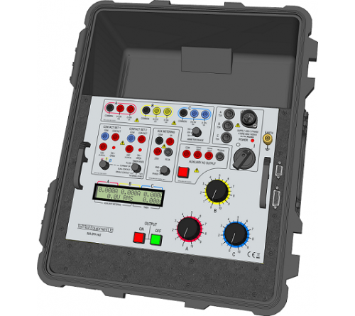 T&R 50A-3PH mk2 Three Phase Secondary Current Injection Test Set