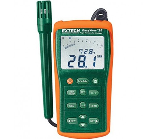 Extech EA25 [EA-25] EasyView Datalogging Hygro-Thermometer