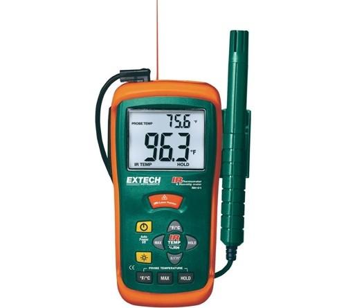 Extech RH101 HygroThermometer Plus IR Thermometer