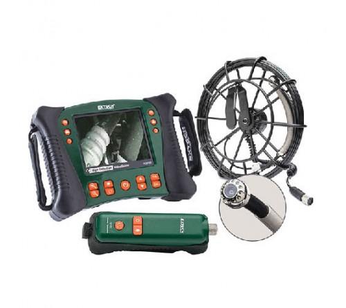 Extech HDV650W-10G Wireless Plumbing VideoScope Kit (25 mm Camera Head w/10 m Fiberglass Cable)