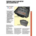 OMEGA FMA-PC16190712 Portable mass flow calibration kit 500 SCCM 10 SLM 500 SLM