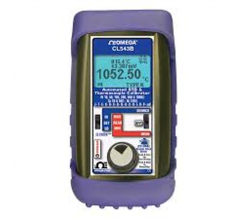Omega CL543B Thermocouple and RTD temperature calibrator