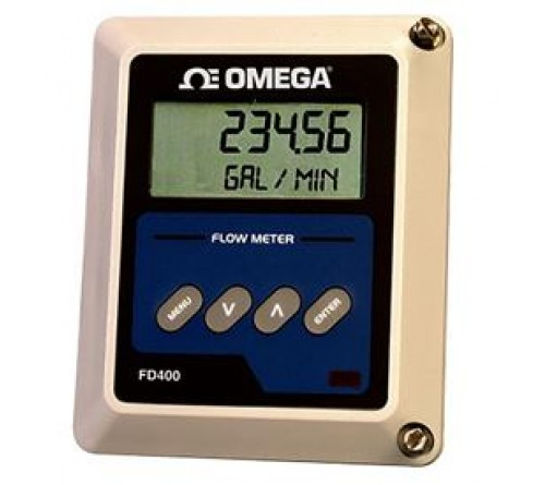 Omega FD-400 Ultrasonic rate and totalizer