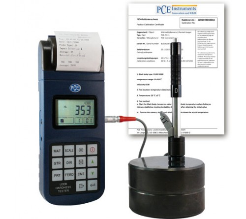 PCE 2800-ICA Hardness Tester for Metals with ISO Certificate