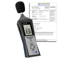 PCE 322A-ICA Sound Level Meter with ISO Calibration Certificate