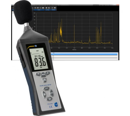 PCE 322ALEQ Sound Level Meter / Noise Level Meter