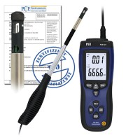 PCE 423-ICA Air Flow Meter  incl. ISO calibration certificate