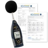 PCE 432 Class 1 Data Logging Sound Level Meter w/GPS & ISO Cert