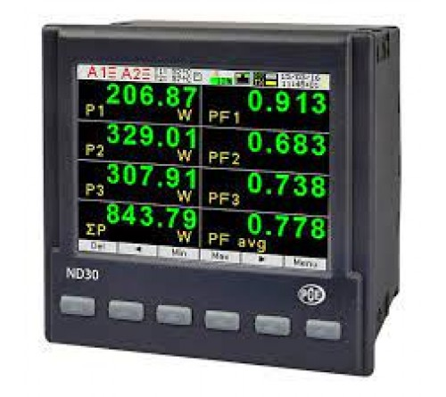 PCE-ND30 [PCEND30] One Phase Power Meter
