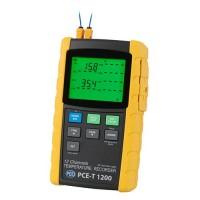 PCE T1200 [PCE-T1200] Multi-Channel Datalogging Temperature Meter