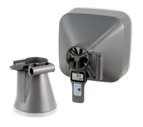 PCE VA 20 SET [PCE-VA 20-SET] Multifunction Air Flow Meter with Capture Hoods