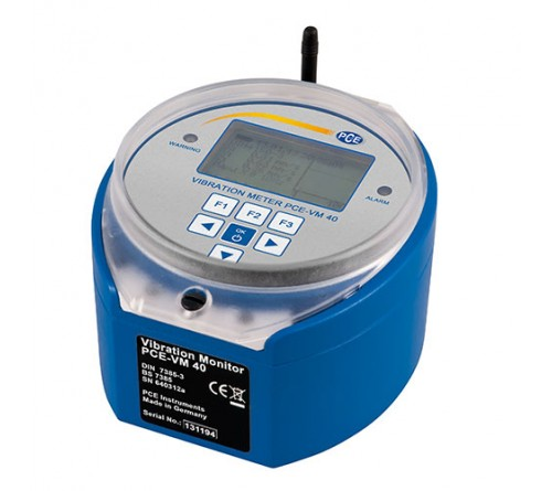 PCE-VM 40B Vibration Analyzer