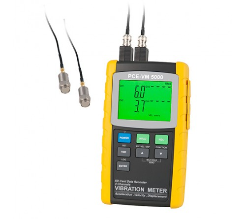 PCE-VM 5000 Vibration Analyzer