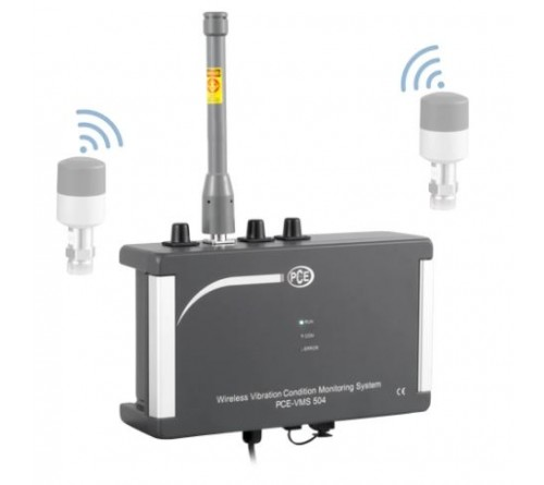 PCE VMS 504 [PCE-VMS-504] Condition Monitoring Wireless Vibration Monitor