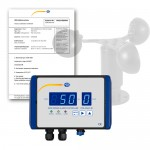 PCE-WSAC 50-110 [PCEWSAC50-110] Air Velocity Meter with ISO Calibrated