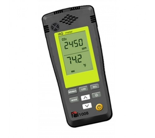 TPI 1008 CO2 and Temperature IAQ Meter