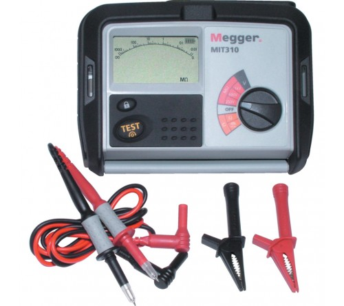 Megger MIT310 Insulation and Continuity Tester