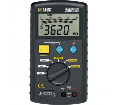 AEMC 1026 Digital Megohmmeter 1000V