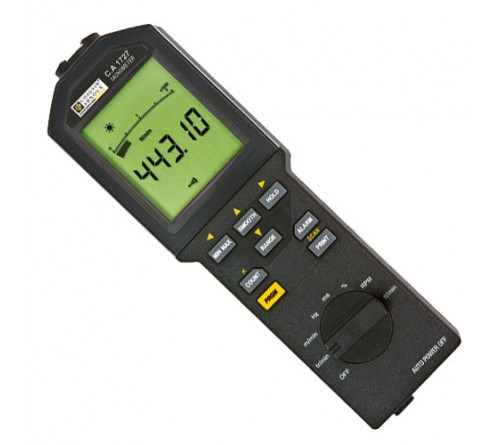 AEMC CA1727 Contact/Non-Contact Tachometer and Data Logger
