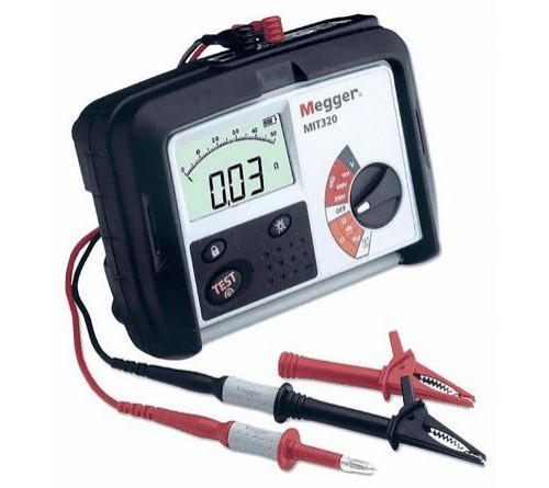 Megger MIT320 Insulation and Continuity Tester