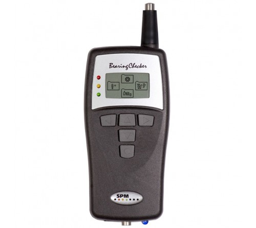 SPM BC100 Bearing Checker and Vibration Tester with IR Thermometer and Stethoscope