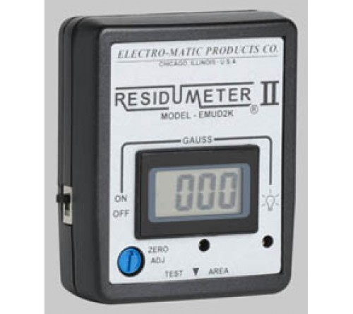 Electro-Matic Residumeter II Digital Gaussmeter model EMUD2K