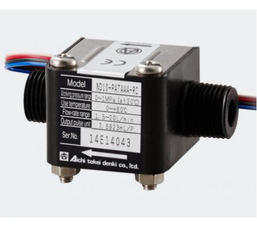 Aichi Tokei Denki ND10-PATAAA-RC Flow Rate Sensor