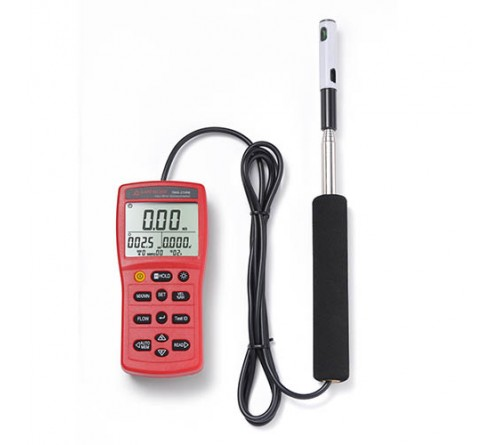 Amprobe TMA-21HW Hotwire Anemometer with Fast Response Telescopic Probe, Temperature and Humidity