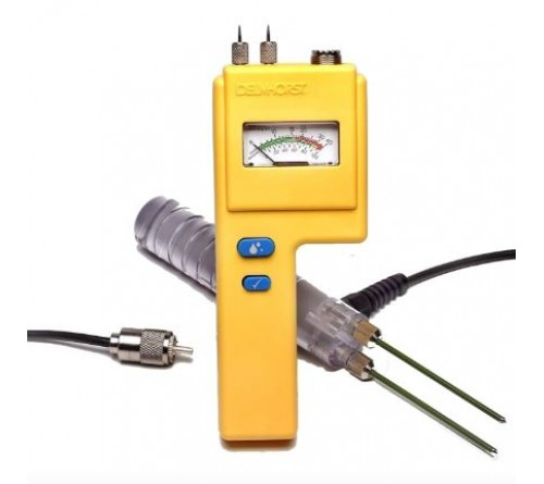 Delmhorst BD-10/PKG [BD-10] Analog Moisture Meter  with 324CAS-0065 Case, 21-E electrode