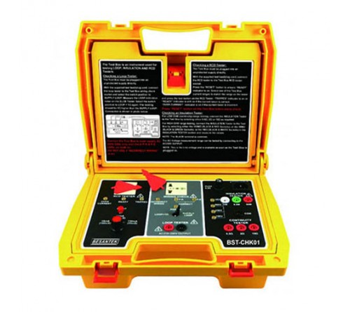 Besantek BST-CHK01 Test Box for RCD, Loop, and Insulation/Continuity Testers