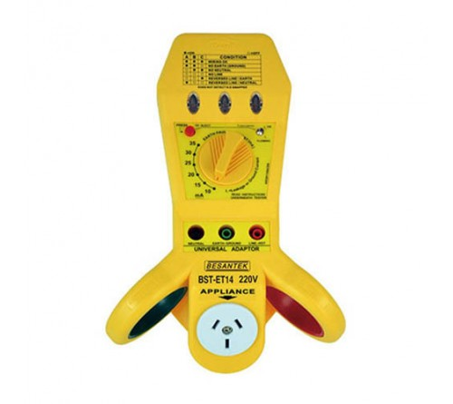 Besantek BST-ET14 Multi-Purpose Electrical Tester, ELCB, RCD, Wiring, Appliance Tester