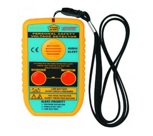 Besantek BST-HVD7 Personal Safety Voltage Proximity Detector, AC Voltage Warning (240V to 50kV)