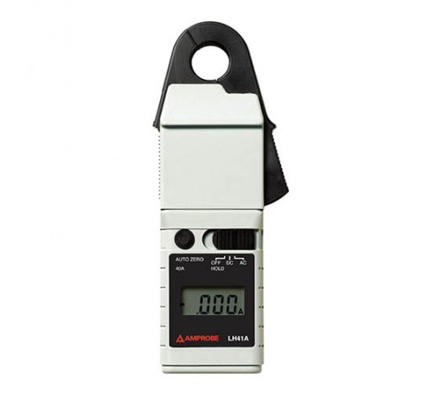 Amprobe LH41A 40A AC/DC Low Current Clamp On Ammeter with 4000 count Display, CAT III Rated