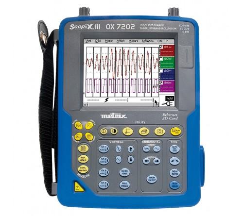 Chauvin Arnoux OX7104P-CK Handheld Oscilloscope - 100MHz, 2 Channel