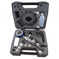 Druck PV212-22-104-N-20S Hydraulic Hand Pump Test Kit with PV212 Pump 10000 psi (700 bar), DPI 104 Digital Pressure Gauge 5000 psig (350 Bar), PRV Pressure Relief Valve, NPT adapters, hose, seal kit, and case