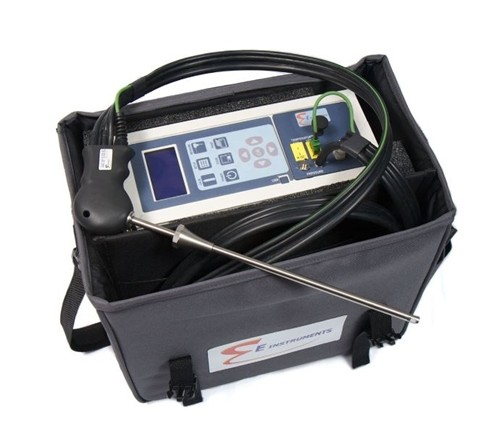 E Instruments E8500-OCN-0-12 Portable Industrial Flue Gas & Emissions Analyzer
