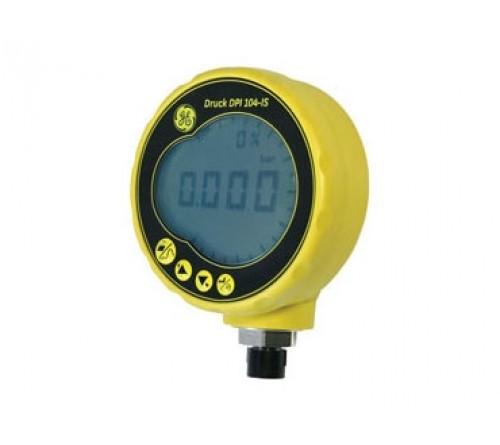 Druck DPI 104S-1-2-A Intrinsically Safe 2 Bar, Digital Bar Test Gauge, 1/4 NPT male (Absolute Pressure)