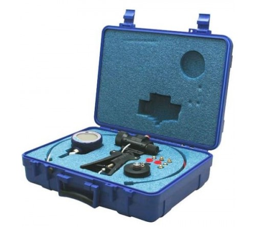 Druck PV411A-104S-HP-2-16-G Pneumatic and Hydraulic Pump Test Kit with NPT fittings for 1000 psi (70 bar) Gauge