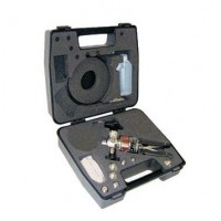 Druck PV212-22-TK-B Hydraulic Hand Pump Test Kit, 0 to 10,000 psi, with BSP Adaptor Kit, Hoses, and Carrying Case