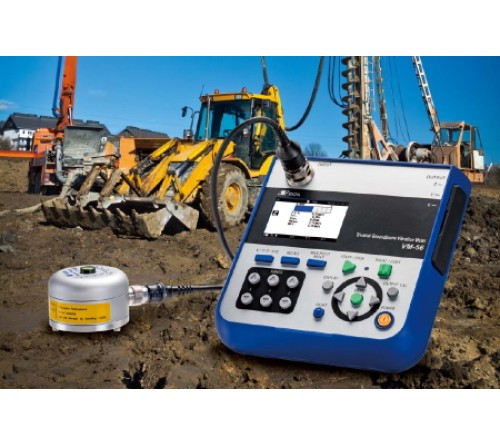 Rion VM-56 Groundborne Vibration Meter
