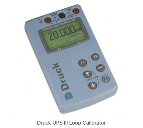 Druck UPS III [UPSIII] Portable Loop Calibrator for mA and V