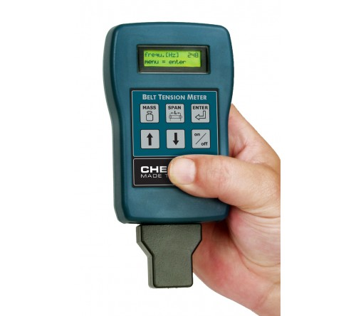 Checkline BTM-400PLUS Belt Tension Meter, Measuring Range: 10 - 800 Hz