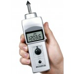 """Checkline DT-105A Digital Contact Tachometer with LCD Display and 6"""" Circumference Wheel"""