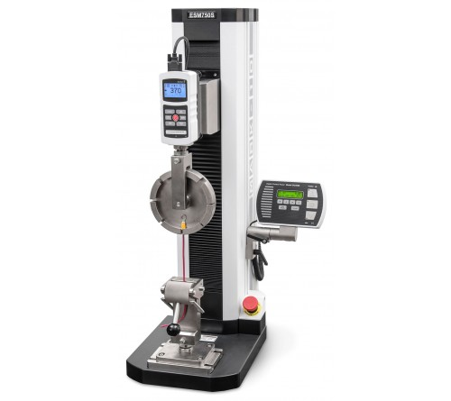 Checkline ESM750FG Motorized test stand with force gauge mount, 750 lbF
