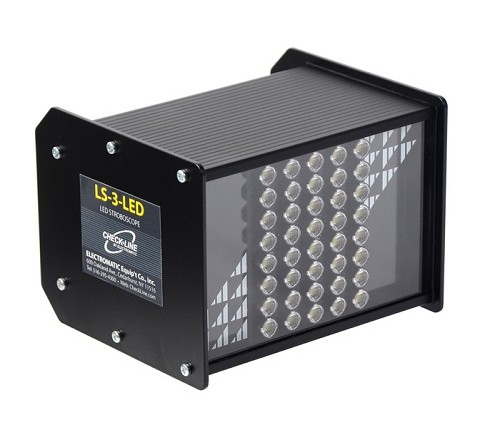 Checkline LS-3-LED LED Inspection Strobe Light for process and narrow web inspection