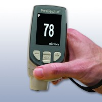 Defelsko 6000-F1 [6000F1-E] Coating Thickness Gauge with Standard Display, Measures Coatings on Ferrous Metals up to 60 mils / 1500 Microns - NSN 6635-01-246-8868