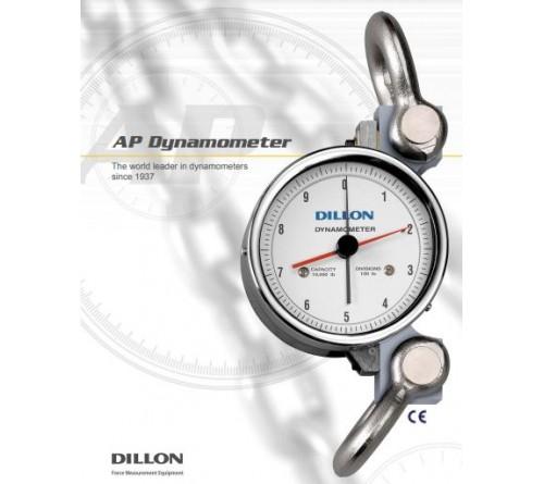 "Dillon  AP5-2000KG Part No.30006-0126 Dynamometer 2,000 KG Capacity 5"" Dial"