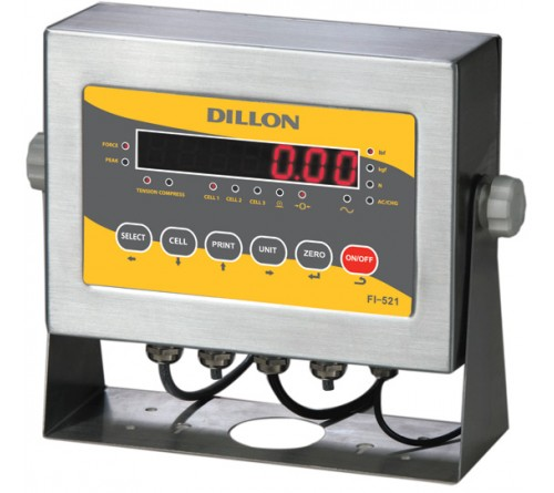 Dillon FI-521 (AWT05-506170) Loadcell Indicator with LED display, 115V AC Powered