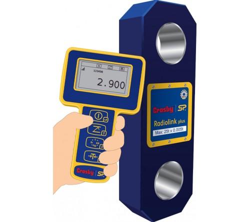 Crosby RLP100T Radiolink-Plus Wireless Dynamometer Tension Loadcell - Straightpoint RLP